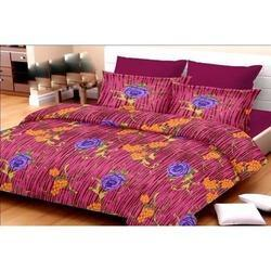 Cotton Flower Printed Bed Sheet