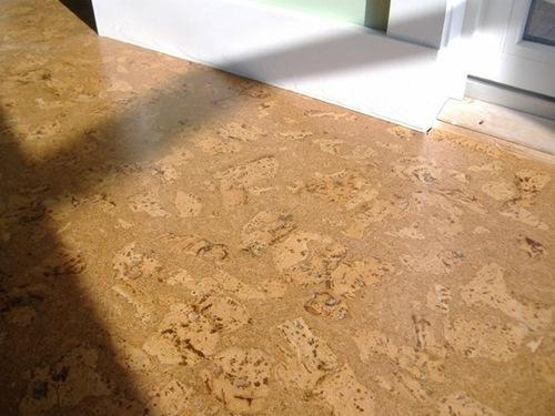 Wooden Cork Flooring For Indoor Finish Type Matte
