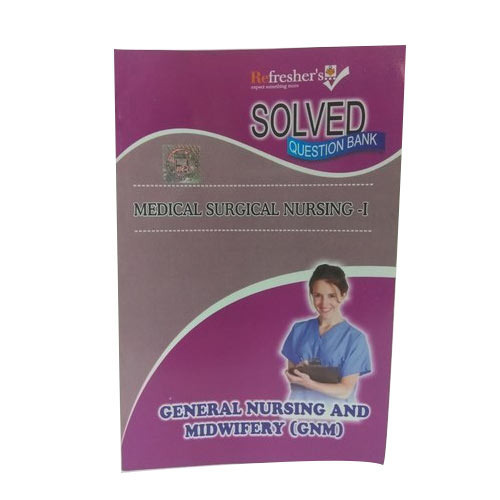 Nursing Books - GNM-Community Health -1 Solved Papers from Delhi