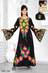 Machine Embroidered Kaftan