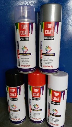 Top Coat Paint >> Top Coat Brand Acrylic Base Fast Dry Spray Paint High Quality At Rs