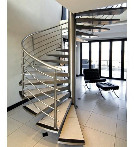 Stainless Steel Round Railing Design Structure, SS ...