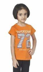 Girl Orange T Shirt