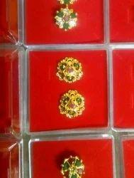 SRI GANAPATI SAI GOLDING Golden Ear Ring