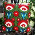 Embroidered Barmieri Suzani Cushion Cover