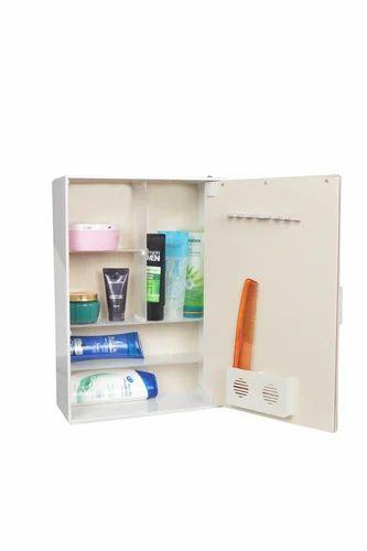 Acrylic Bathroom Utility Cabinet