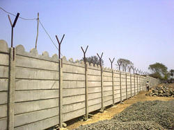 Readymade Concrete Compound Walls