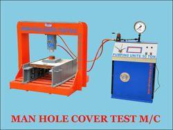 Digital Square  Manhole Cover Testing Machine