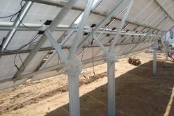 Solar Power Structures Galvanizing Service