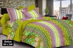 Bagru Print Cotton Bed Sheet