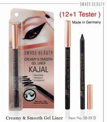 Swissbeauty Bold Black Kajal 24hrs Wear Sbek13