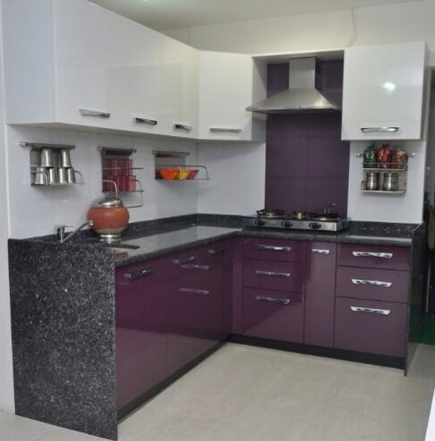 Semi Modular Kitchen At Rs 100000 Set Modern Kitchens Modular Kitchen Furniture Modular