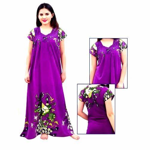4c797cf60db Ladies nighty ladies nighty gown manufacturer from new delhi jpg 500x500  Rubber nighty