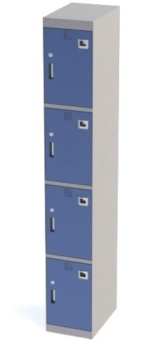 Steel Locker 4 Door