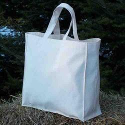 Recycled Organic Canvas Gusset Tote Bag