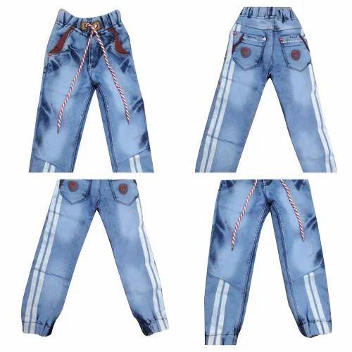 b7d99ffbdf Denim Party Wear Kids Blue Jeans