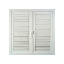 Fixed UPVC Louvers Window