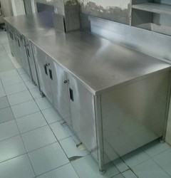 Stainless Steel Work Cabinet