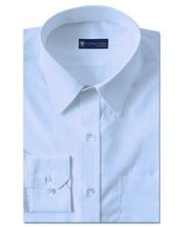 Morges Light Blue Party Wear Shirts