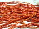 Natural Coral Beads 3mm