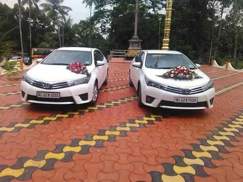 Wedding Premium Cars Decoration Services In Kottayam Chandralekha
