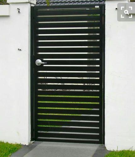 Swing Mild Steel Safety Door, For Home