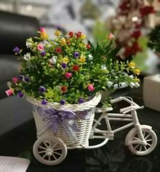 Hyperboles Artificial Plant With Imported Vintage Cycle