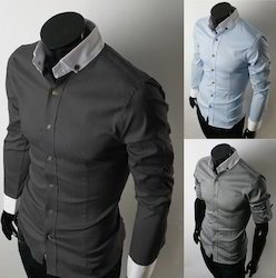 Multicolor Full Sleeves,Half Sleeves Mens Formal Shirt