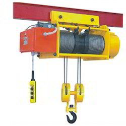 Electric Wire Rope Hoist in Ahmedabad, Gujarat   Manufacturers ...