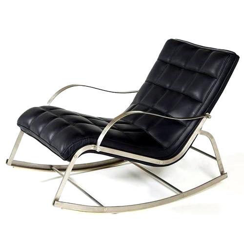 leather rocking chair at rs 3550 /piece | vastral | ahmedabad | id