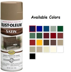 Rust Oleum Stops Rust Enamel Multi-Purpose Satin Spray Paint