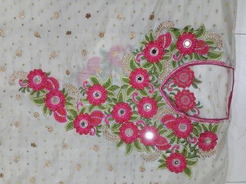 Neck Embroidery Design For Sute Kadhai Ke Design Rudrax