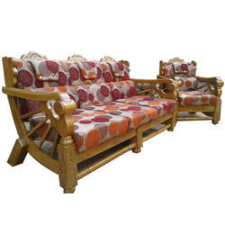 Furniture Design Wooden Sofa wooden sofa set, designer sofa - jangid furniture mart, indore