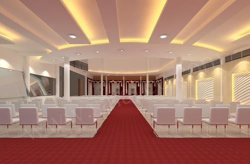 Marriage Hall Interior Design In Bhilwara, Near Taxi Stand Nagori Garden By  Sainath Space Management Consultants | ID: 12766734755