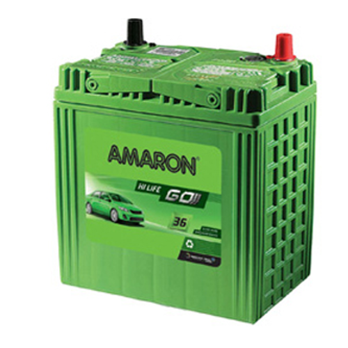 Amaron Car Batteries 35 Ah 24 24 Warranty एमर न क र