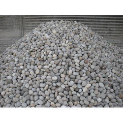 White Natural Stone River Pebble Stones, For Landscaping