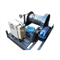 Electric Winch with Control Panel
