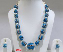 Designer Beads Necklace Set