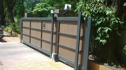 Automated Sliding Gate With RFID Card System