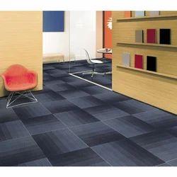 Multiple Polypropylene Carpet Tile, Size: 50*50