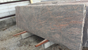 Raw Light Brown Marble Slab