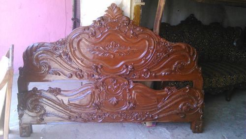 New Assam Teakwood King Size Cot