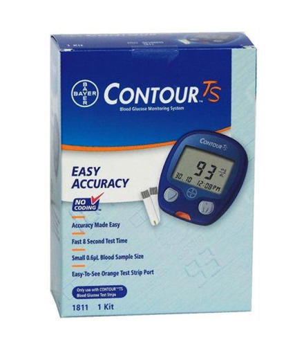 bayer contour ts 10 600 mg dl blood glucose meter with at rs rh indiamart com Contour Test Strips Contour Glucometer Test Strips Prescription