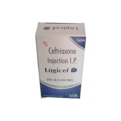 Ceftriaxone Injection IP Logicef