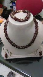 Gem Stone Necklace Set