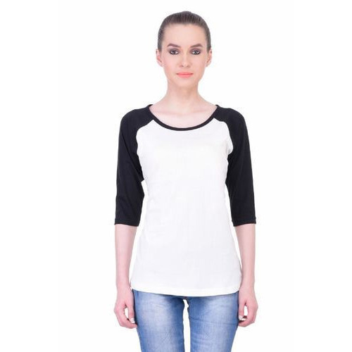 58c1c37228cea Round Neck Cotton Women Full Sleeve T Shirts at Rs 469  piece ...