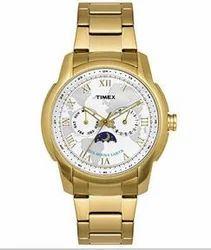 Golden Multifunction Watch