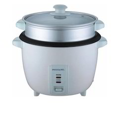 Rice Cooker With Steamer