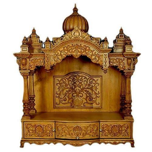 2d267a79019 Home Wooden Temple at Rs 75000  piece