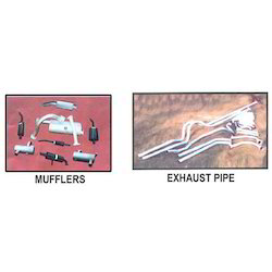 Mufflers And Exhaust Pipes